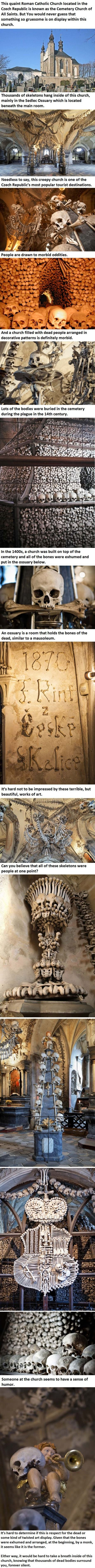 Creepy church in Czech Republic. - Just DWL || The Ultimate Trolling