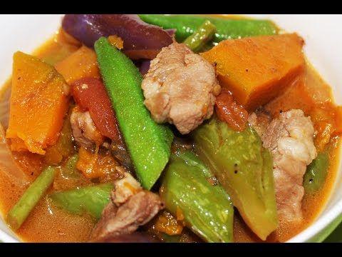 How to Cook Pakbet or Pinakbet Recipe - English - YouTube