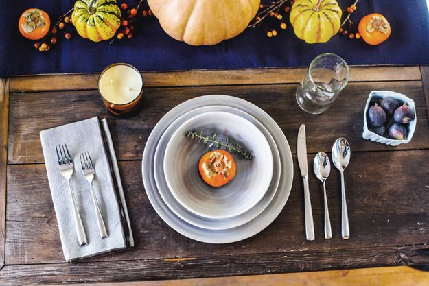 Best thanksgiving table settings ideas on pinterest