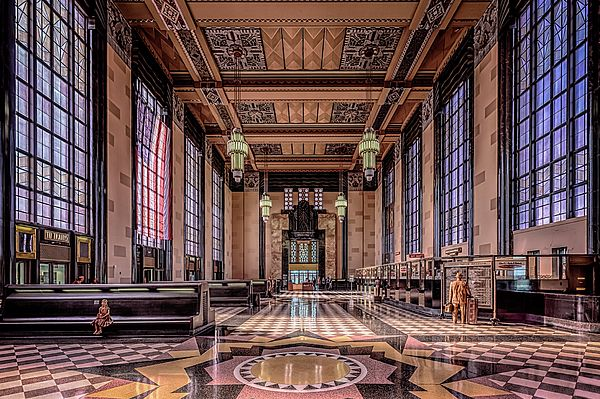 The Durham Museum, Omaha, Nebraska - Union Station Great Hall