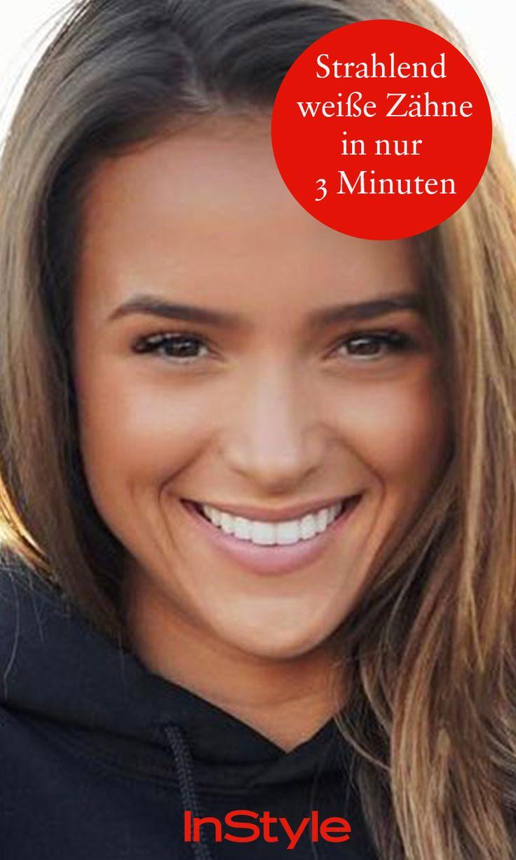 Strahlend weiße Zähne in 3 Minuten? Du brauchst nur diese 2 Dinge