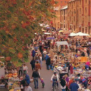 Salamanca Market is a community street market that has become Tasmania's major…