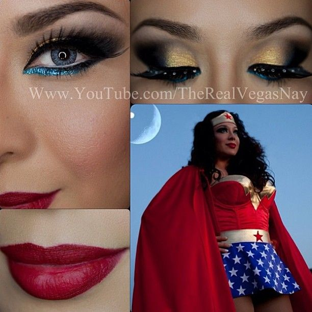 Wonder woman pants costume-9862