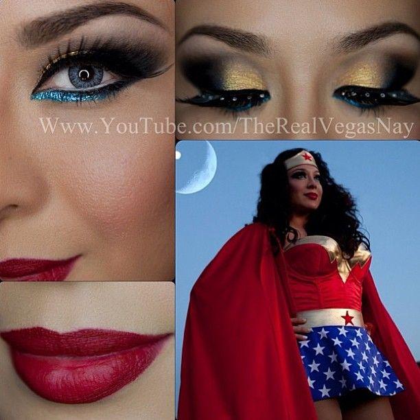 Wonder woman pants costume-9862