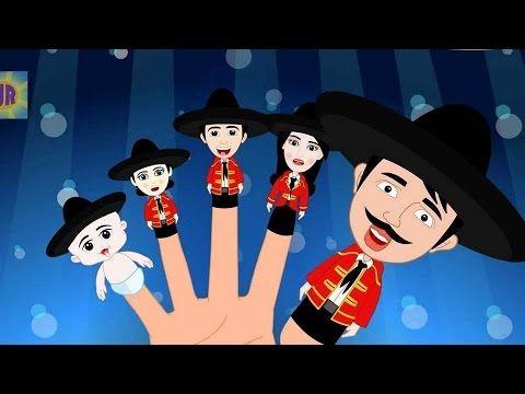 Finger Family Rhyme In Spanish | dedo familia en español | spanish nurse...