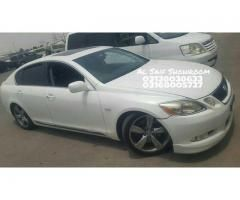Lexus GS FOR SALE in good amount is you want