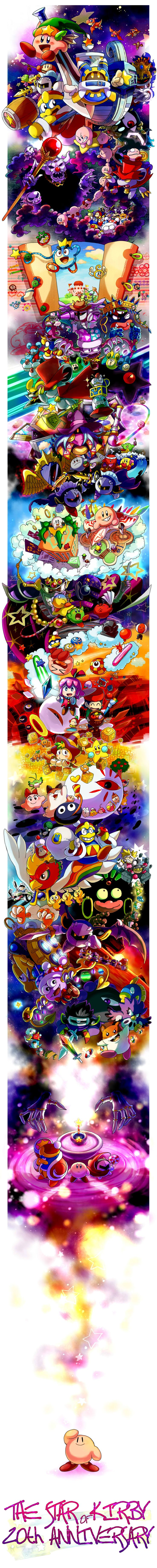 20 year of kirby