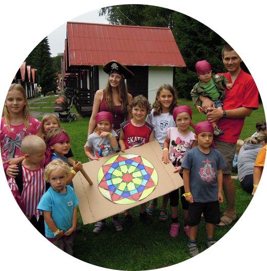 Tábory pro rodiče s dětmi - 2017 - dětský tábor