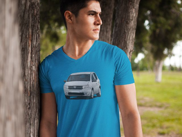 Dacia Sandero illustrations on t-shirts  #dacia #sandero #daciasandero #illustration #carillustration #tshirt #silvercar #romanian #automobiles #cars