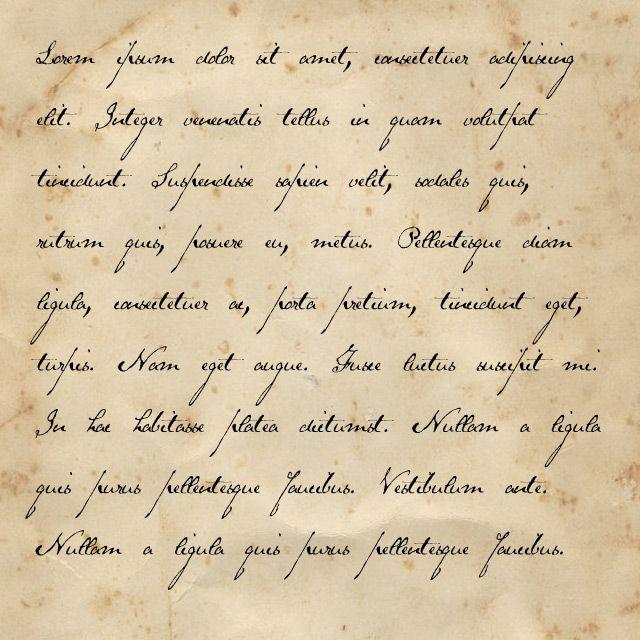 Victorian Handwriting Font Handwritten Fonts Victorian