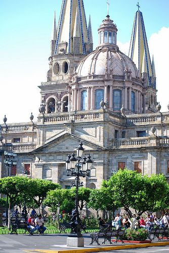 Guadalajara Cathedral or Cathedral of the Assumption of Our Lady, Guadalajara, Jalisco, Mexico