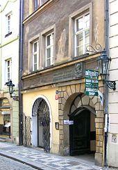 Johannes Kepler – Keplers Haus in Prag