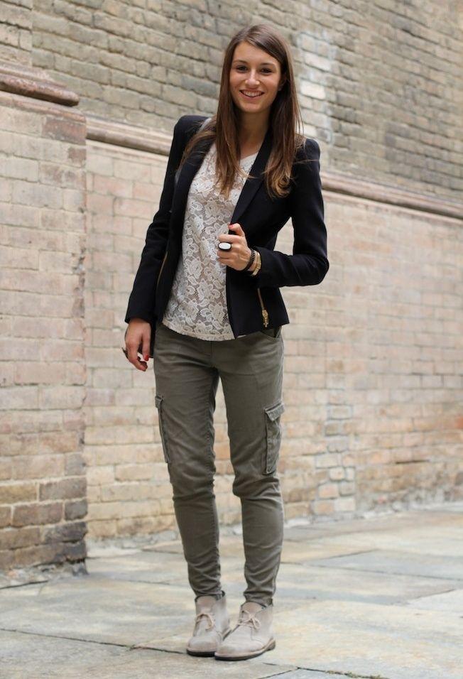 cool Модные женские брюки карго (50 фото) — С чем носить? Читай больше http://avrorra.com/bryuki-kargo-zhenskie-foto-s-chem-nosit/