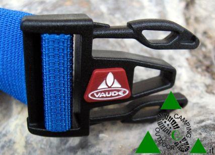 Fibbia dello zaino da trekking Vaude Splock 38. Buckle of Vaude splock 38