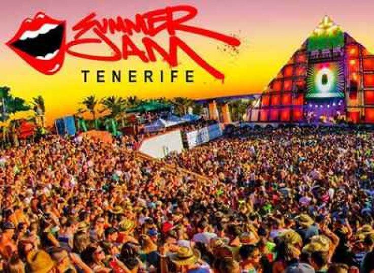 The Summer Jam Tenerife 14th September 2013. Hosted in Siam Park, Playa de las Americas. 3pm - midnight
