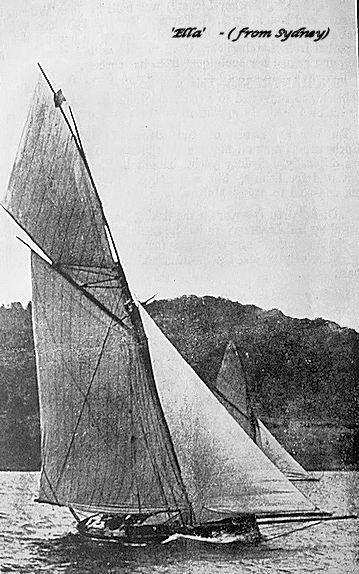 A.G. Webster's 'Ella' - (built in Sydney.