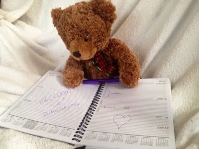 DAY 3 Penny writes Not knowing what will happen in the blank space of my schedule is the adventure.