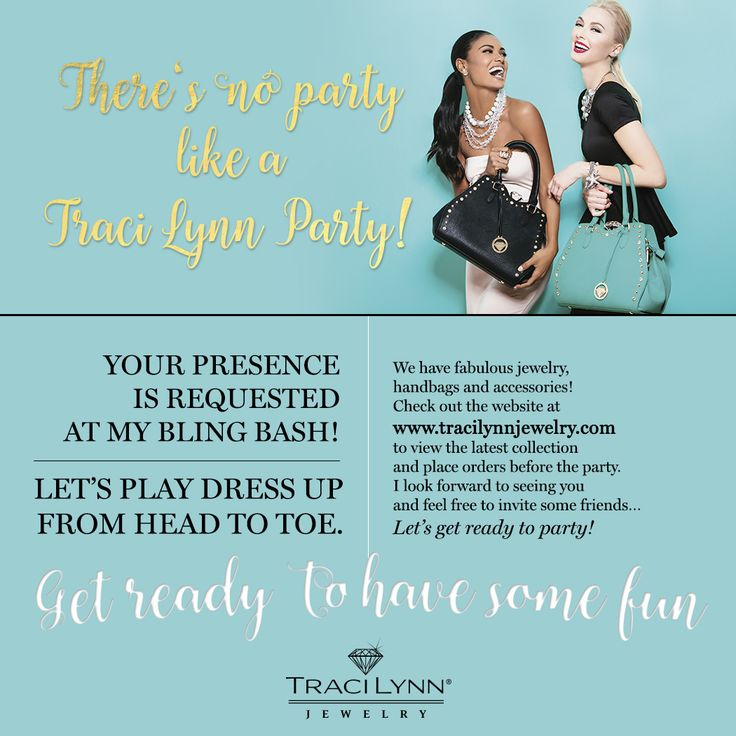 Thank you for visiting my Traci Lynn Jewelry Pinboutique.  I invite you to participate in my online party this month.  Visit my online party by clicking on this link.  Want to host your own online party.  It's easy and FUN! Send me an email so we can set a time to talk.  I look forward to speaking with you. Email: nicole.spence1@live.com