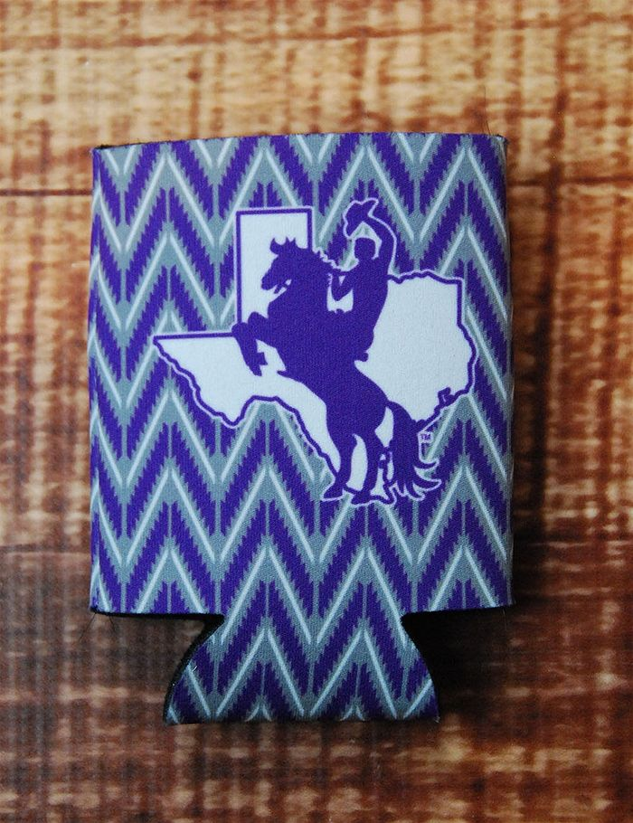 Tarleton State Logo Koozie! Keep your drinks cold/warm with this awesome Tarleton State koozie. You know it's the perfect tailgating accessory. Go TSU!!