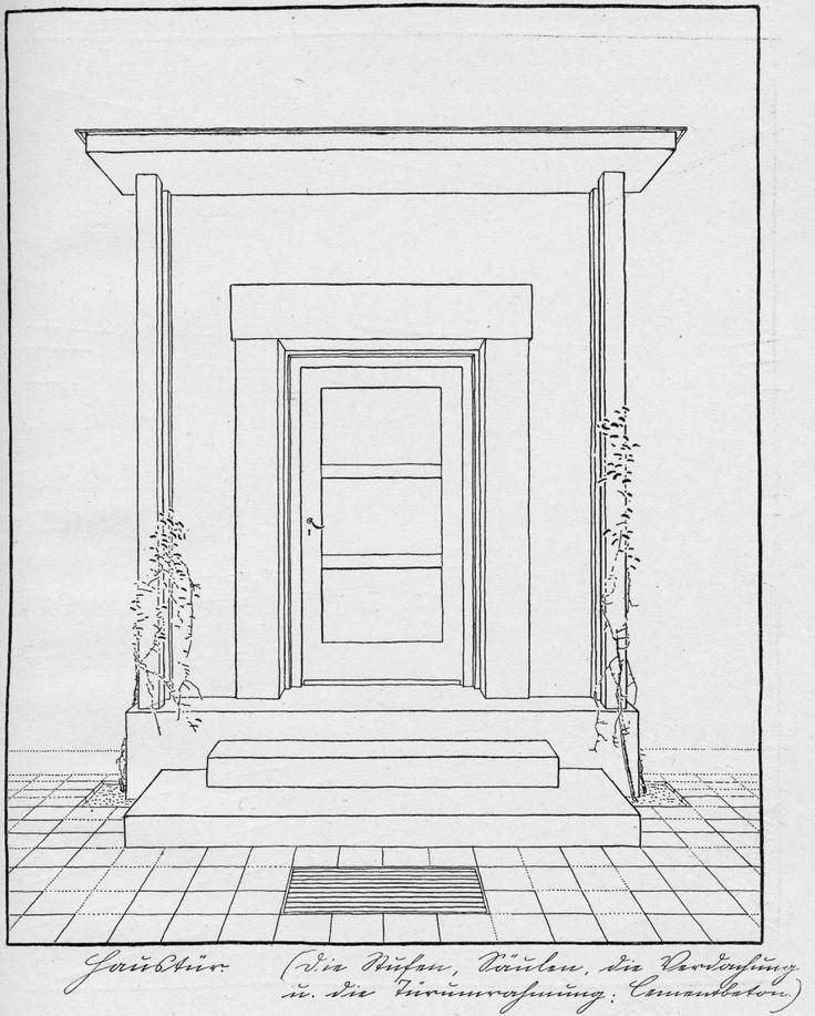 Heinrich Tessenow - Hausbau und Dergleichen, Munich, Georg D. W. Callwey