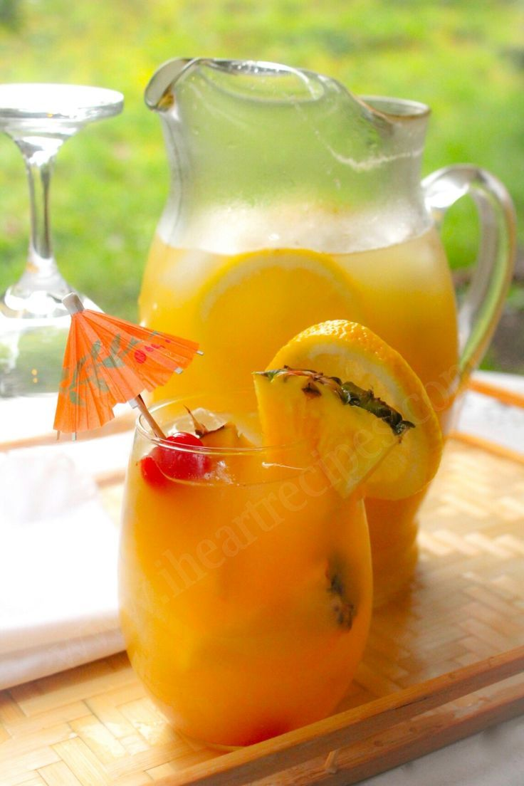 how to make real jamaican rum punch