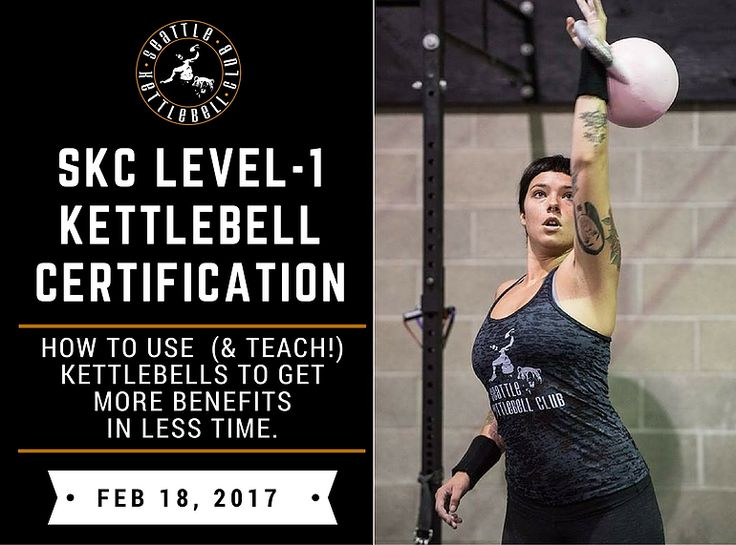 Seattle Kettlebell Club | Certification