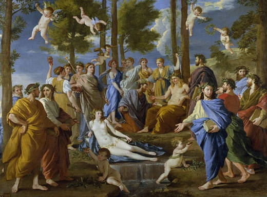 Nicolas Poussin - Parnassus (1630-1631), Museo Nacional del Prado, Madrid