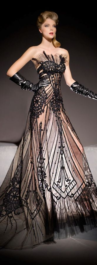 Blanka matragi dresses chic pinterest art deco deco for Couture clothing