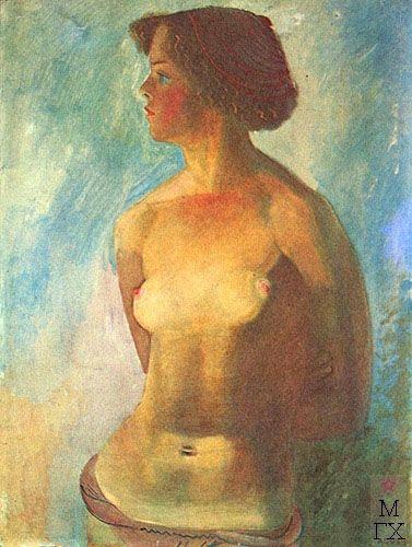Пахомов Алексей Федорович. Девушка на солнце