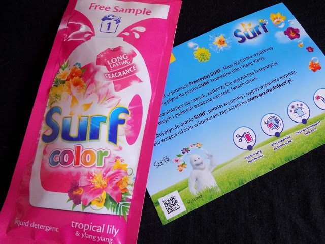 Kasia testuje i opisuje: Płyn do prania Surf color
