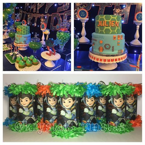 . Miles from Tomorrowland Mini Piñata Party Favor/Goodie Bags 🎉🚀💚☢🌀 Cake: @adore_ray_me_cakes  Decor: @unique_affairs_ri  Worldwide Shipping! 🎉  Order today for your next event!  Any theme can be done! 🎉 Email, DM, or Text 201-208-7675 🎉  #milesfromtomorrowland #milesfromtomorrowlandparty #tomorrowland #milesfromtomorrowlandbirthday #milesfromtomorrowlandcake #cool #birthday #goodiebag #candybag #lootbag #candy #partyfavor #partydecor #fiesta #festa #festainfantil #party #favor…