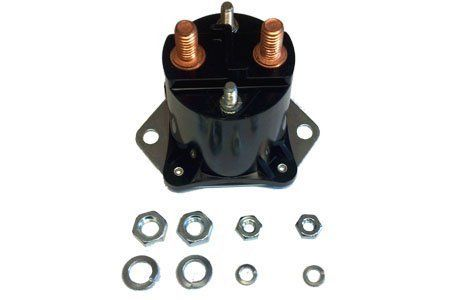 Club Car 12 Volt 4 Terminal Solenoid 84Up DS04Up Precedent Gas Golf Carts ** Learn more by visiting the image link.