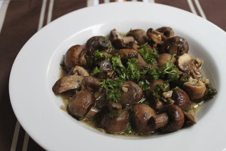 Garlic Butter Roasted Mushrooms | Favorite Recipes | Pinterest