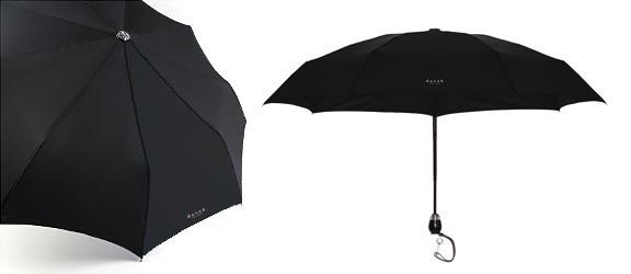 DAVEK-Traveler Umbrella Black