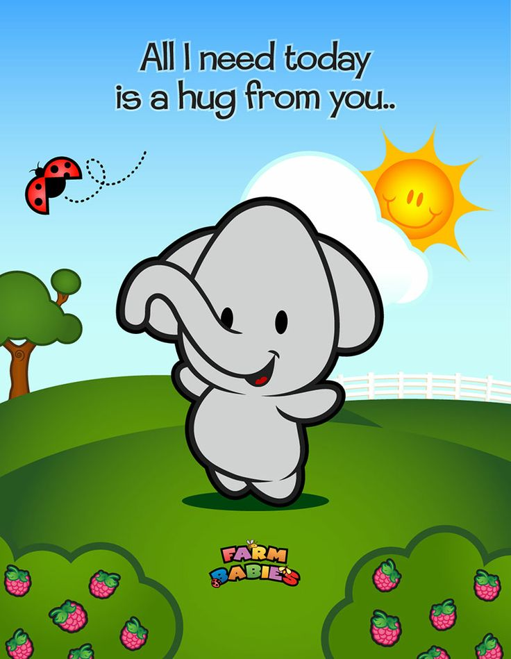 Farm Babies / #kawaii #cute #love #quotes #illustration #baby #farm #uplifting #cartoon #hug
