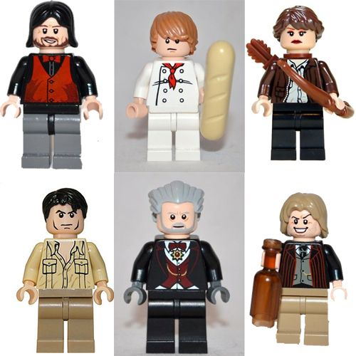 Lego Hunger games characters!