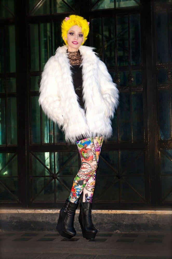Da #siamoises puoi indossare il #TATTOO che preferisci! Questo è il DJ e ce lo racconta A Strange Beauty by Emy Rice! http://bit.ly/leggingstattooemyrice