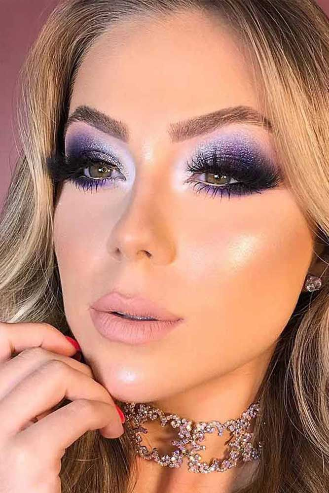Purple Smokey Eyes Makeup #purplesmokey ☆ Thirsty for some fresh ideas for smokey eye makeup