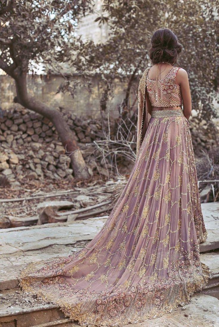 Pakistani couture Umsha by Uzma Babar Amoré Bridal S/S 2017