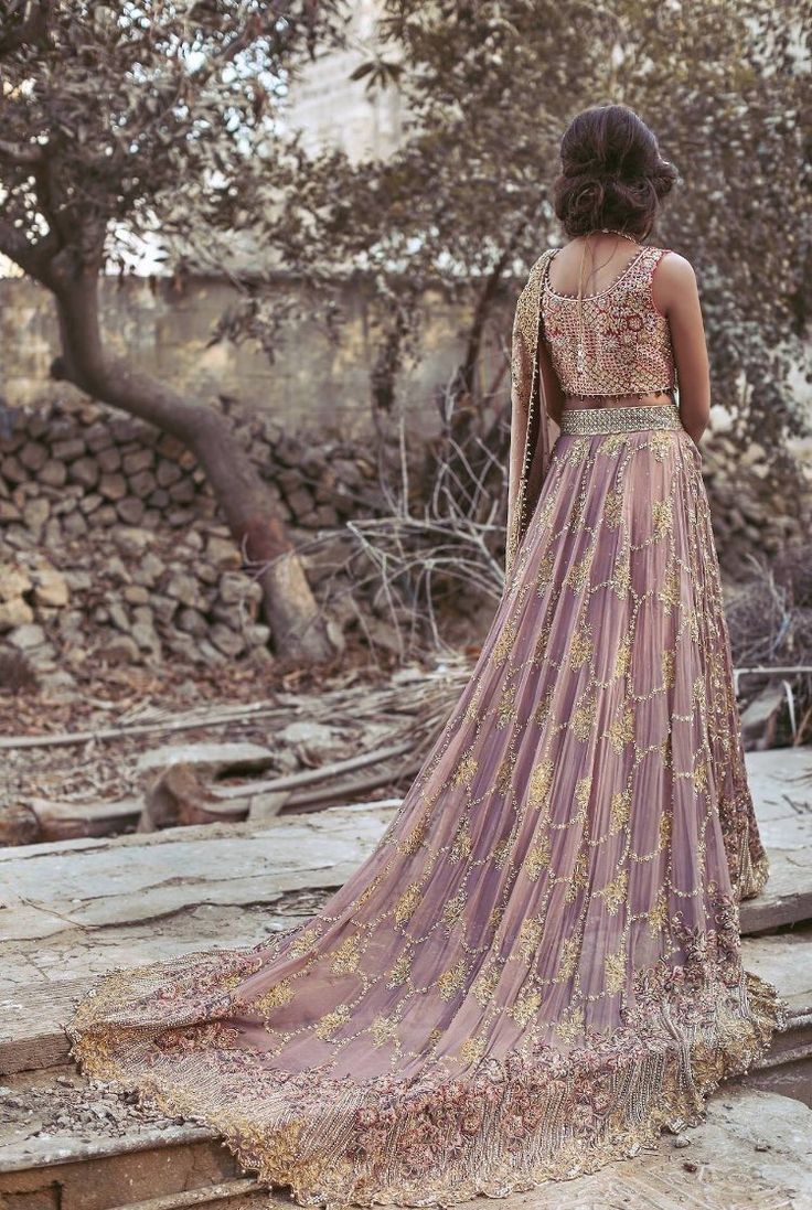 This but in Navy blue and gold Pakistani couture Umsha by Uzma Babar Amoré Bridal S/S 2017