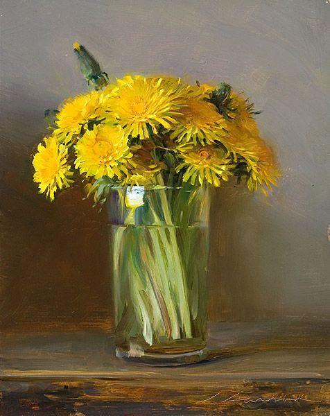 Mother's Bouquet (Dandelions) by Jeffrey T. Larson