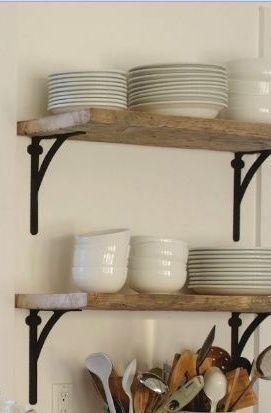 Shelves - Click image to find more Home Decor Pinterest pins