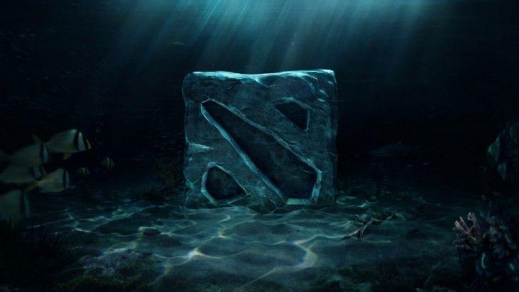 Dota 2 Logo HD Wallpaper Underwater 1920×1080
