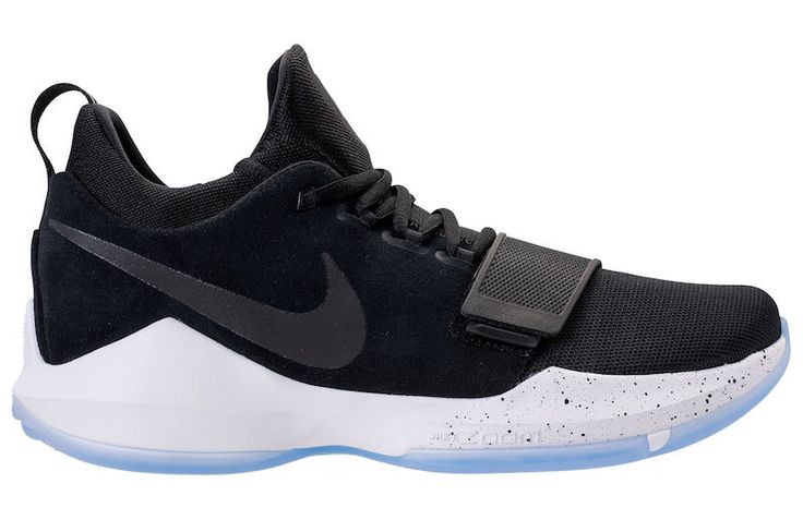 Nike Paul George 1 Black Ice Nike will continue realizing the Paul George first sneakers signature with the NIKE PG