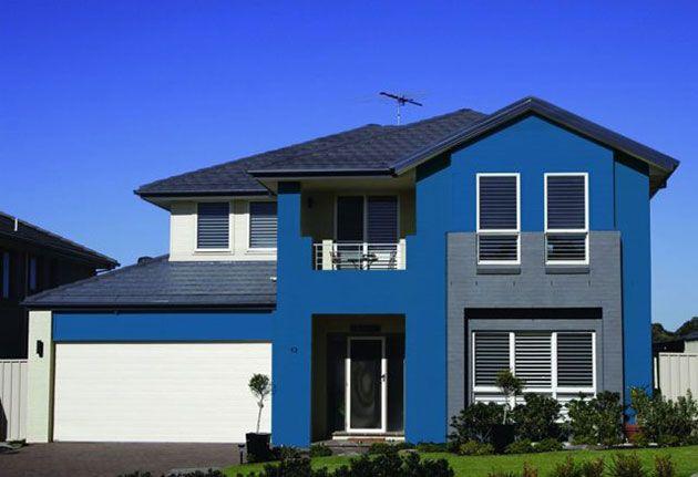 45 Fotos Y Colores Para Pintar Casa Por Fuera Mil Ideas De Decoración Casas Pintadas Colores Para Pintar Casas Exteriores De Casas