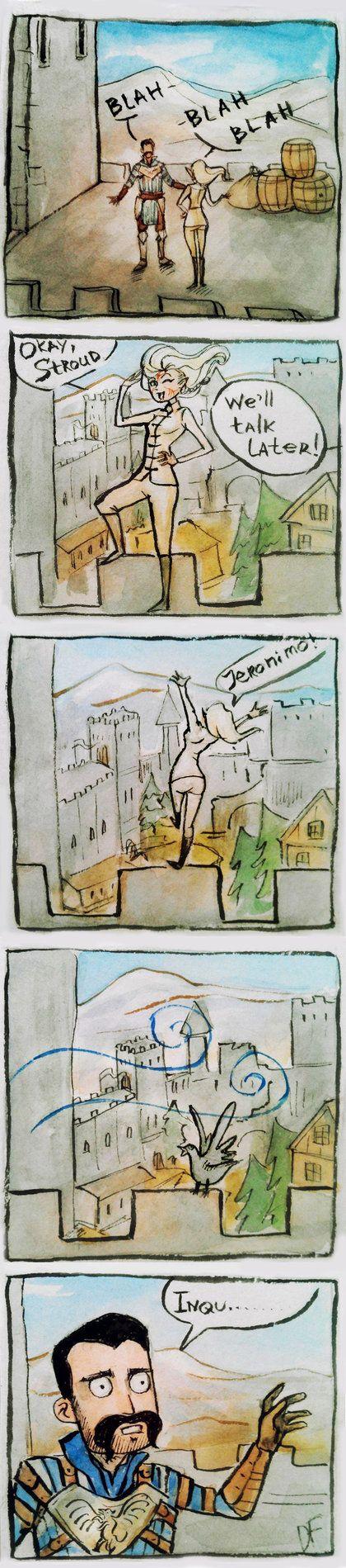 Jump of Faith by DancinFox on DeviantArt