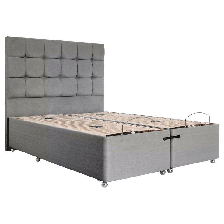 tempur adjustable divan bed king size on sale in the uk along with best deals - Bed Frame Deals