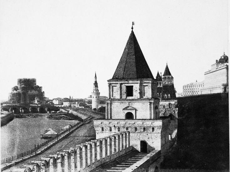 Walls of the Kremlin, 1852.