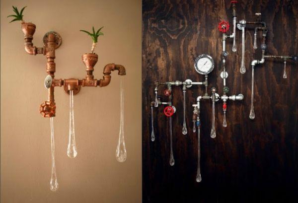 designer lampen tanya clarke steampunk stil. Black Bedroom Furniture Sets. Home Design Ideas