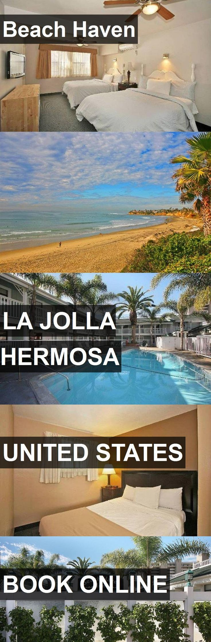 Hotel Beach Haven in La Jolla Hermosa, United States. For more information, photos, reviews and best prices please follow the link. #UnitedStates #LaJollaHermosa #travel #vacation #hotel